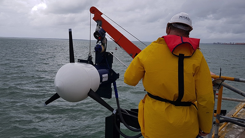 Mako Tidal Turbines in action-ocean-energy